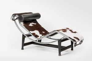 LC4 Chaise Longue by Le Corbusier leather