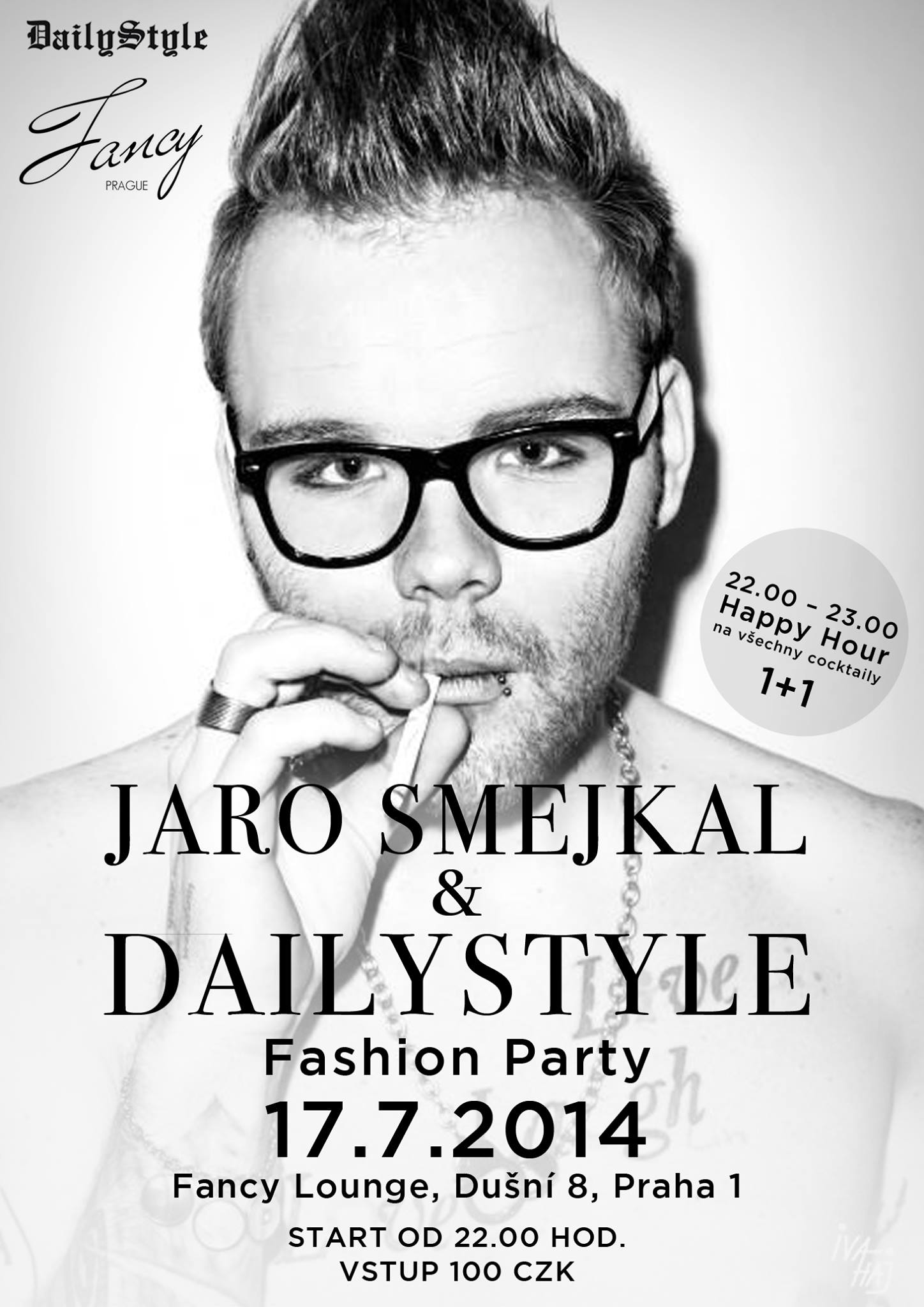 Jaro Smejkal a Dailystyle fashion party