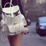 The backpack trend