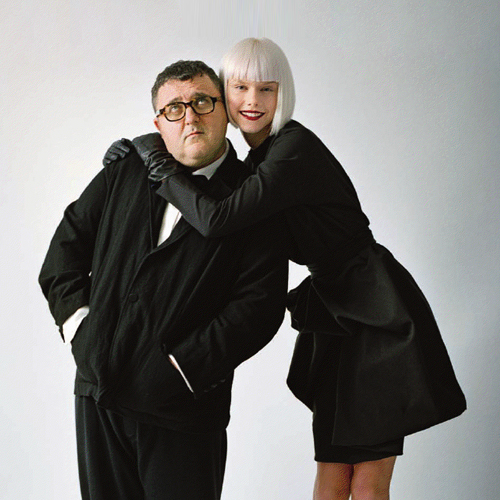Alber-Elbaz-and-model