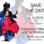 SAVE THE DATE: Ivana Follová Fashion Show