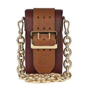 Burberry Oblong Belt Bag in Textured Leather ($1,295)