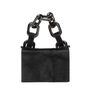 Calvin Klein Collection Calf Hair Chain Bag ($850)