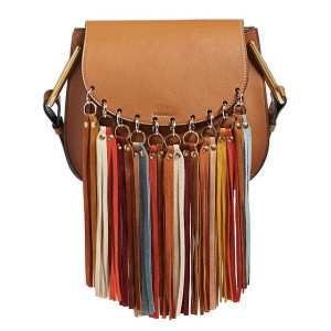 Chloé 'Small Hudson' Suede Tassels Leather Shoulder Bag ($2,390)