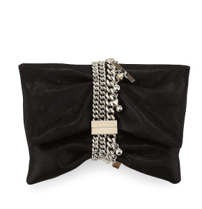Jimmy Choo 'Chandra' Suede Clutch Bag ($1,225)