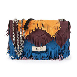 Roger Vivier 'Prismick' Mini Fringe Shoulder Bag ($3,050)
