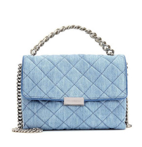 Stella McCartney Mini 'Beckett' Denim Chain Bag ($1,185)