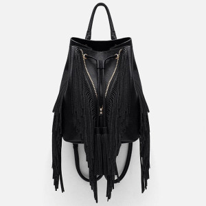 Zara Fringe Backpack ($60)