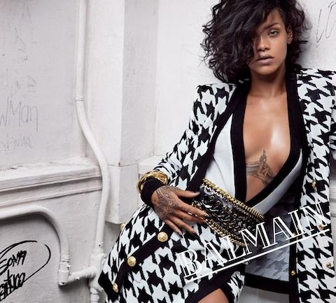 Balmain, Rihanna