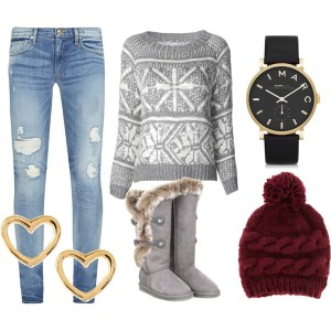 Silvestr, outfit, chata