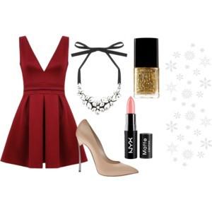 Outfit na Vánoce