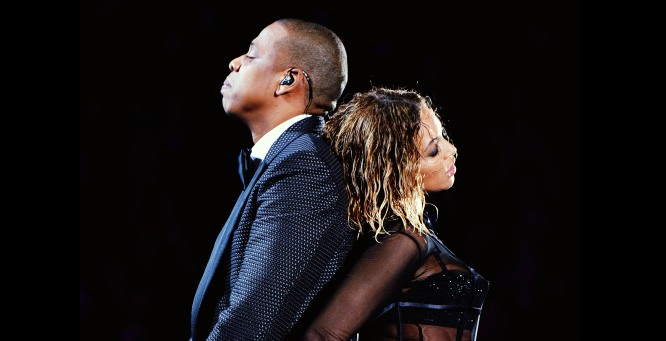 Grammy 2014 Jay-Z and Beyonce