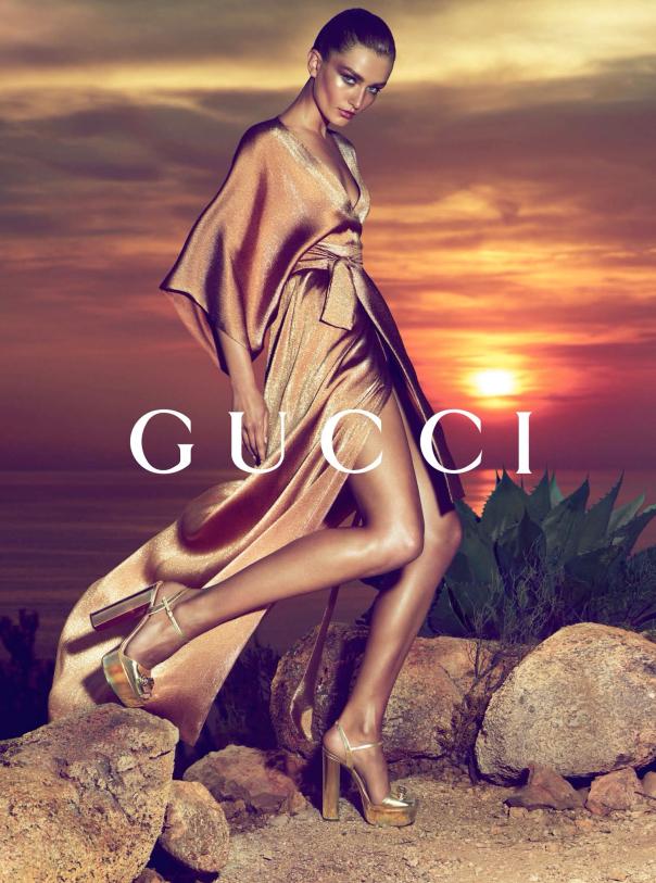 Andreea Diaconu, Gucci Cruise 2014, Ibiza