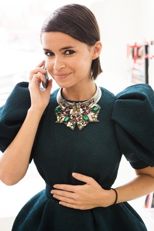 Mira Duma ruská módní ikona