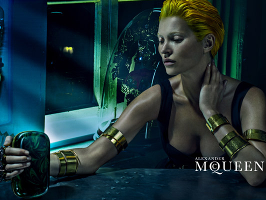 Kate Moss for Alexander McQueen
