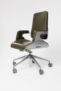 Silver Chair by Hadi Teherani
