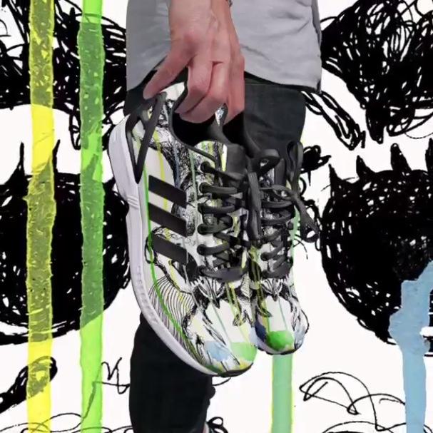 Mi Adidas paint