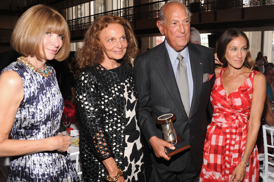 Oscar de la Renta - Anna Wintour, Diane von Furstenberg, Sarah Jessica Parker