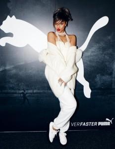 Rihanna se stala ambasadorem značky Puma