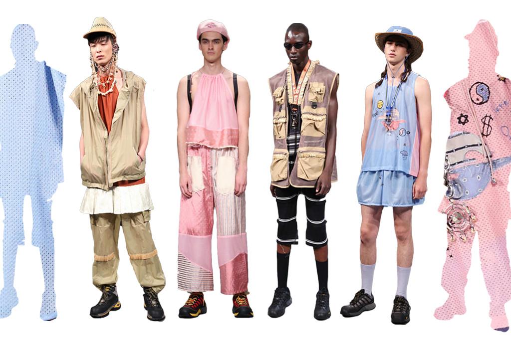 Hlavní hrdinou kolekce Gypsy Sport je infantilní cestovatel do vesmírných galaxií. Hlavní návrhář Rio Uribe použil kýčovitý patchwork, sít'ovinu z basketbalových dresů a nedbalou ruční výšivku, čímž spolu s kombinací měchových nakládaných kapes, hrubých trekových bot a batůžku vytvořil bizární mix, hodící se spíše pro publikum z londýnského Fashion Weeku.
