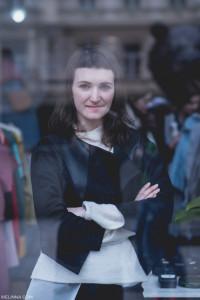Kamila Boudova Fashion Revolution foto Welin Nagyova