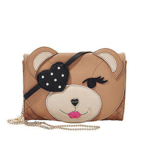 Betsey Johnson 'Cray Cray Creatures' Bear Clutch ($68)