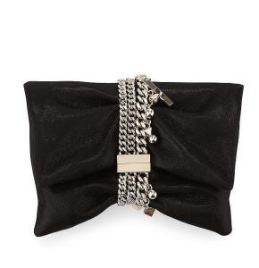 Jimmy Choo 'Chandra' Suede Clutch Bag ($1,225)