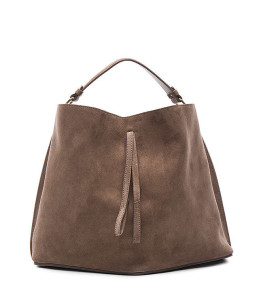 Maison Margiela Velour Leather Bag ($1,695)