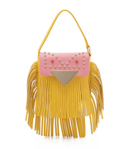 Sara Battaglia 'Cutie' Crossbody Fringe Bag ($525)