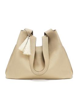 The Row 'Duplex' Calfskin Hobo Bag ($2,550)