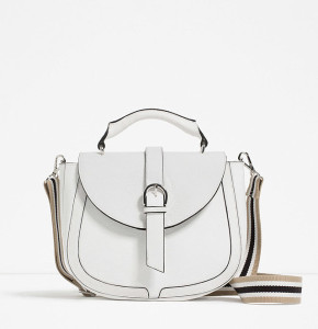 Zara Leather Messenger Bag Handle ($100)
