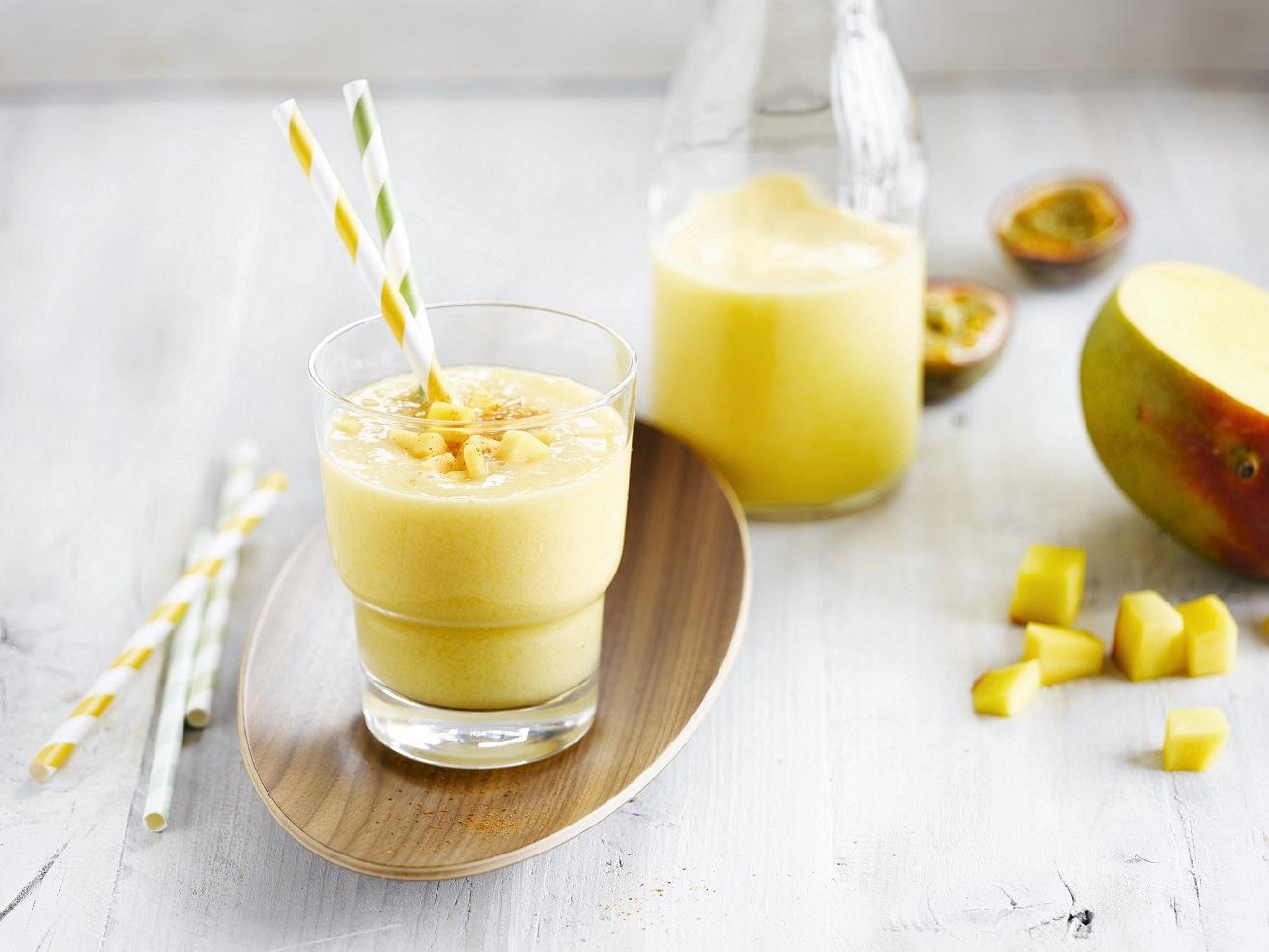 5 - Cerstve energizujici smoothie s mangem