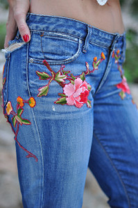DIY-Gucci-Embroidered-Jeans-6